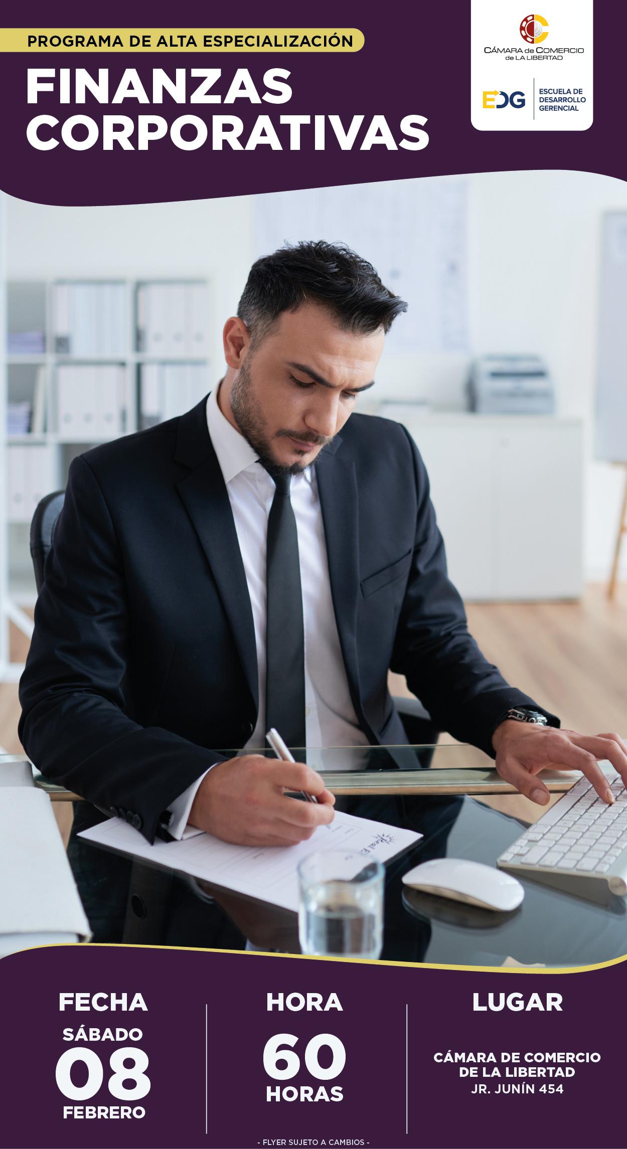 Course Image PAE en Finanzas Corporativas